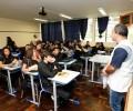 Secretaria de Estado da Educação do Paraná, Volta as aulas no Colégio Estadual São Paulo Apostolo no Bairro Uberaba, 29-02-16. Foto: Hedeson Alves