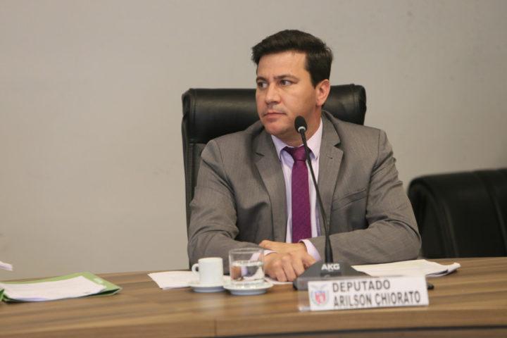 Deputado Arilson Chiorato (PT). (Foto: Orlando Kissner).