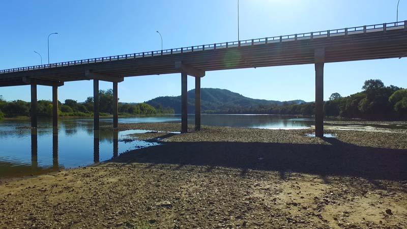 Estiagem no Paraná (Foto: Portal Vvale/Skillfx Produções).