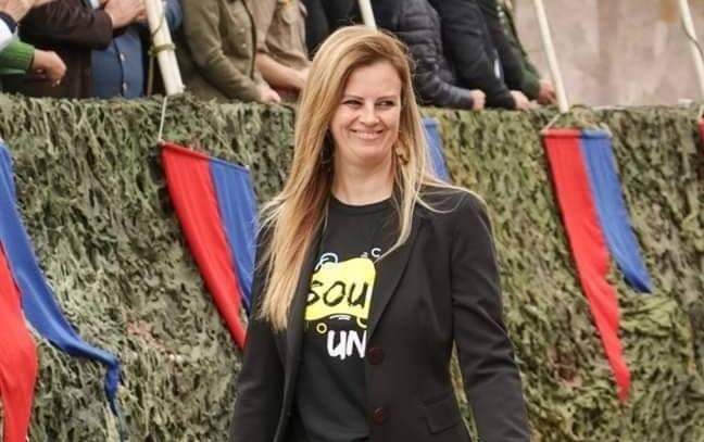 Diretora do Campus de Porto União, da UnC, Ana Claudia Flenik