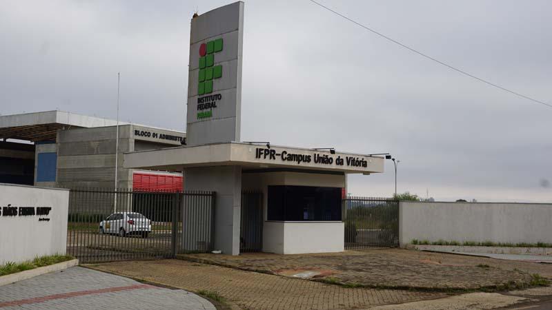 IFPR Campus União da Vitória. (Foto: Ricardo Silveira).