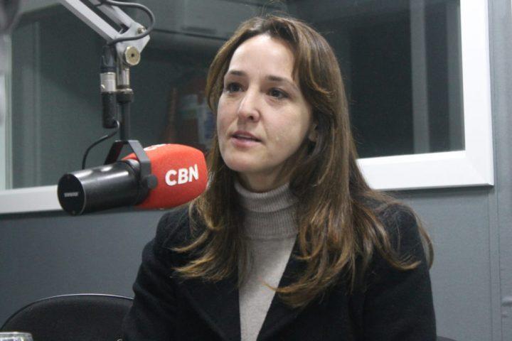 Diretora geral do Campus União da Vitória do IFPR, Patrícia Cambrussi Bortolini