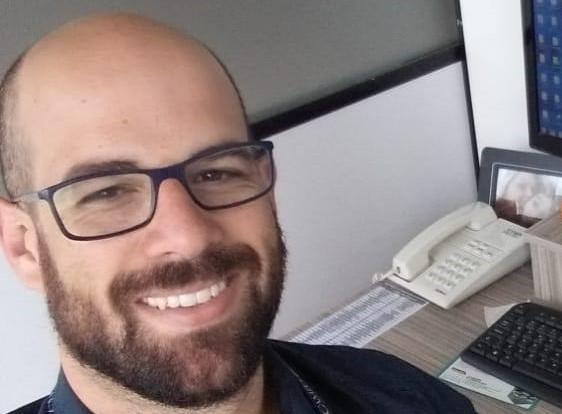 Vice-reitor da Uniguaçu, Mateus Cassol Tagliani