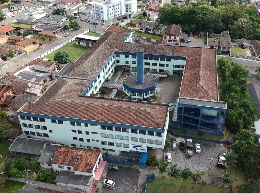 Centro Universitário de União da Vitória - Uniuv. (Foto: AgexCom).